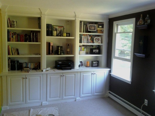 Study Built Ins Custom Home Finish