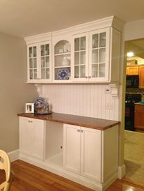Image of Dining Room Cabinetry