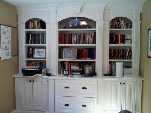 Image of Home Office Built In