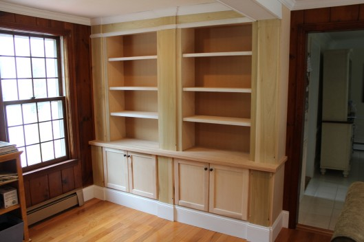 Image of Bookcases with Doors