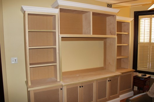 Image of Built In Entertainment Center