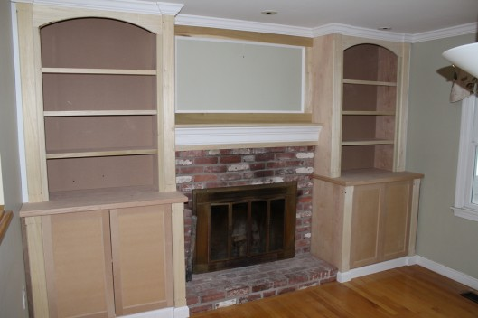 Image of Fireplace Built Ins