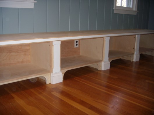 Image of bench seat