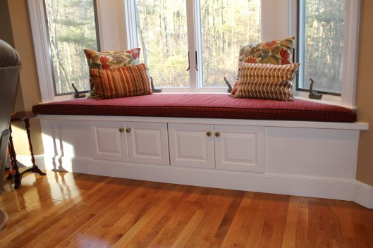 Window Bench Seat Custom Home Finish