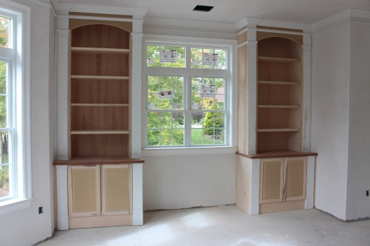 Image Of Built In Bookcases
