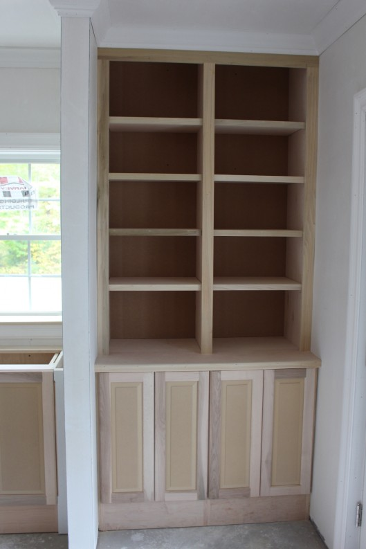 Image of Built In Bookcase