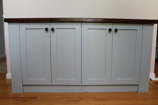 Image of Cabinet with doors