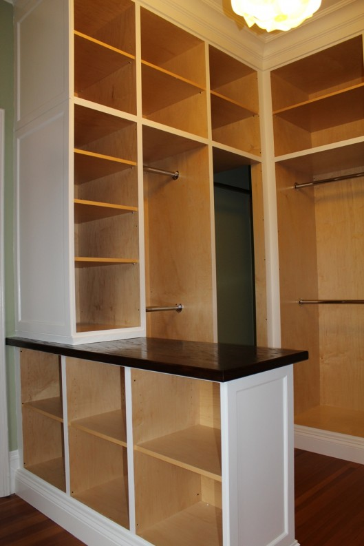 Gentil Image Of Custom Walk In Closet Built Ins