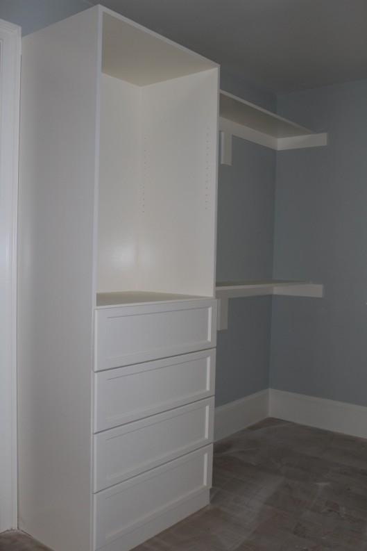 Image of Closet Storage with drawers