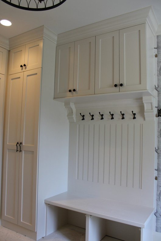 Image of Mudroom Entryway with Doors