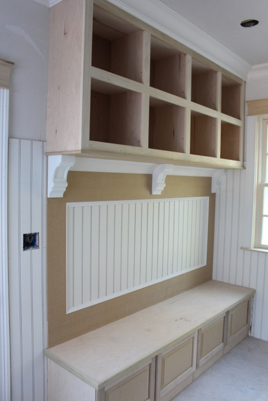 Image Of Mudroom Bench And Cubbies
