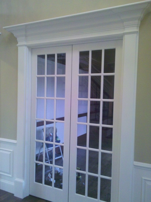 Foyer Door Trim : Foyer trim custom home finish