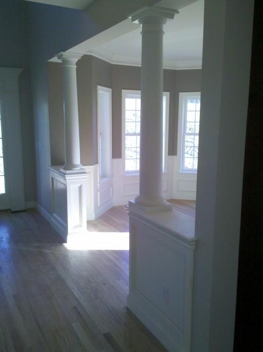 Image of 1/2 wall columns