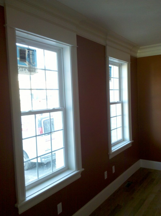 Window W Pediment Custom Home Finish