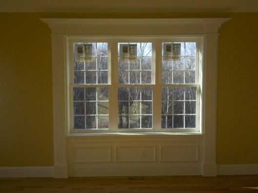 Image of chamfered window