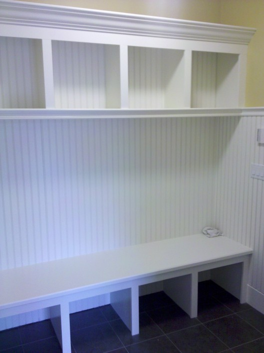 Image of Mudroom cubbies