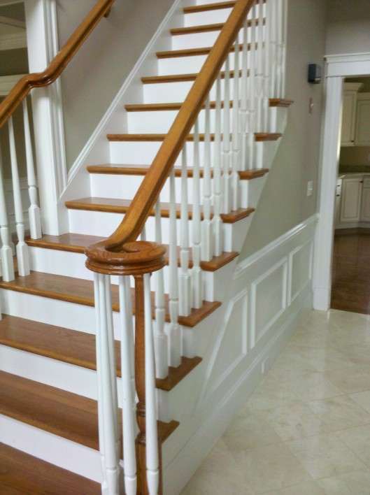 Stairway Volute Custom Home Finish