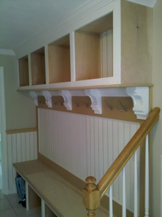 Image of Mudroom Bench & Cubbies