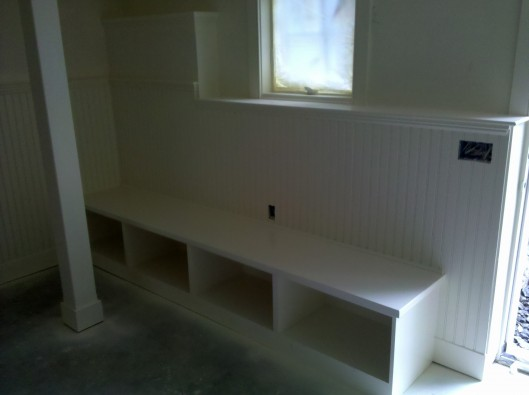 Bench Seat Cubbies Custom Home Finish