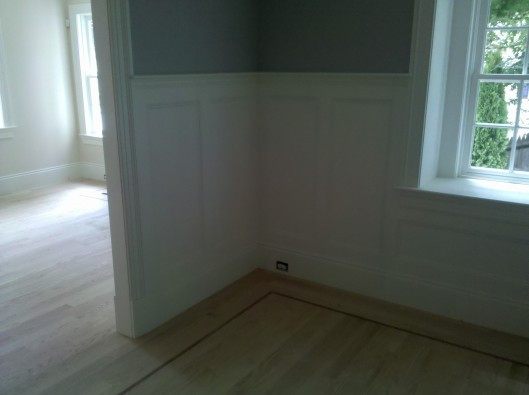 Image of Recess Panel Wainscoting