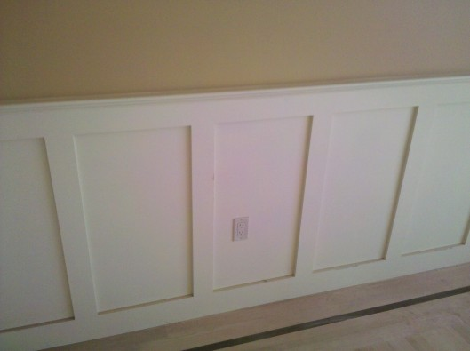 Shaker Wainscoting Custom Home Finish