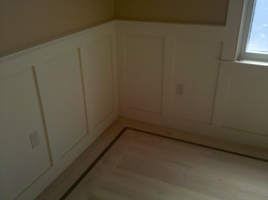 Shaker Style Wainscoting Custom Home Finish