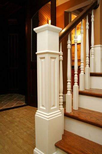 Image of Raised Panel Box Newel