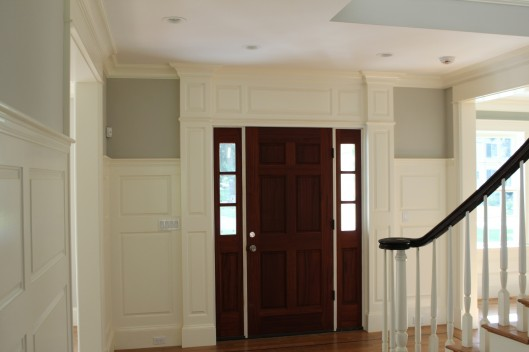 Image of Front Door Trimwork