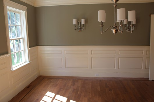 Image of Dining Room Wainscoting