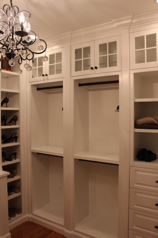 custom closet custom home finish