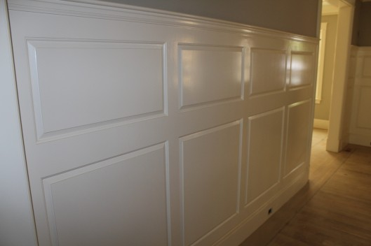 Image of Double Raised Panel Wainscoting