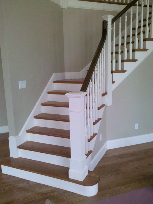 Image of oak stair