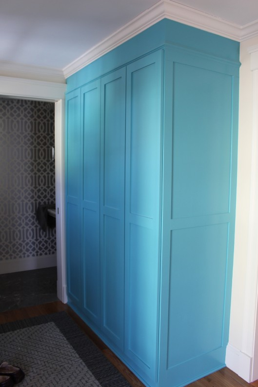Image of Mudroom Closet Built Ins