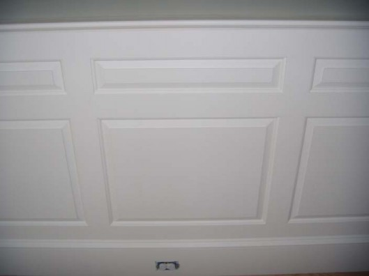 Image of double raised panel