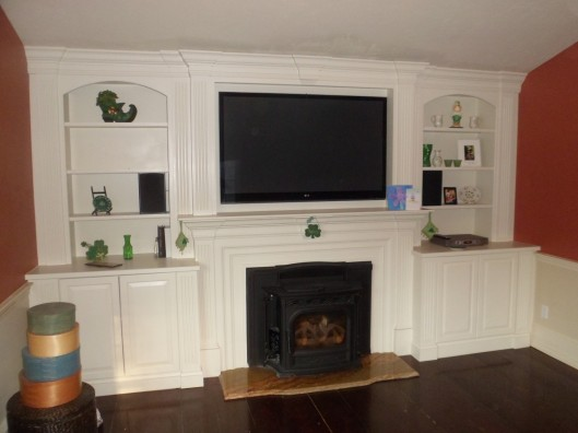 Image of Fireplace Built In