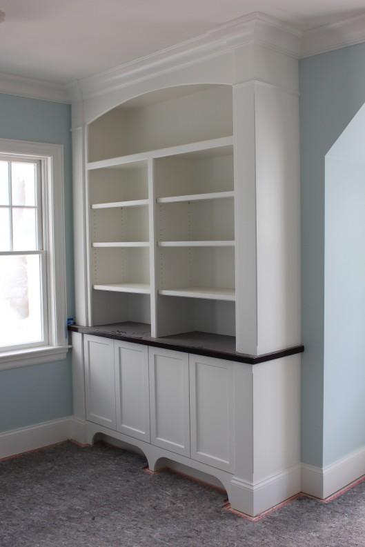 Image of Built In Bookshelves