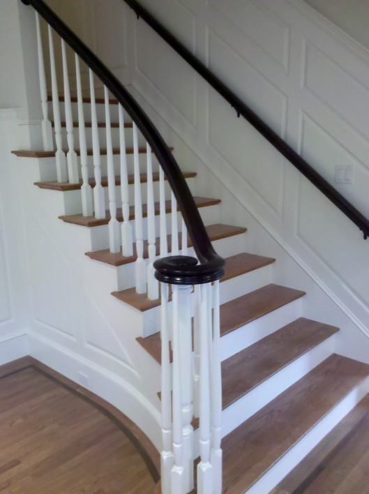 Image of stair volute