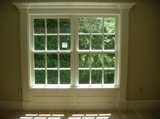 Image of fluted window