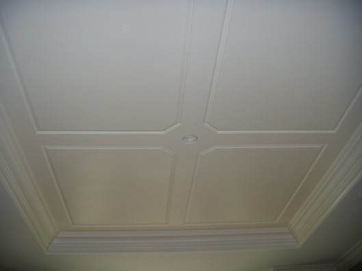 Image of raised panel ceiling