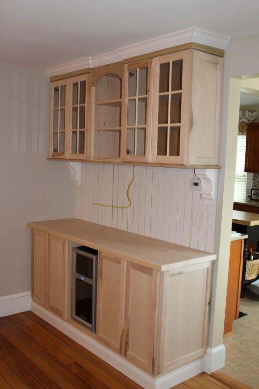 Dining Room Built In Custom Home Finish