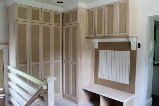 Image of Mudroom Entryway & Closet Built Ins