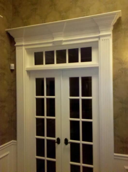 Image of foyer fance