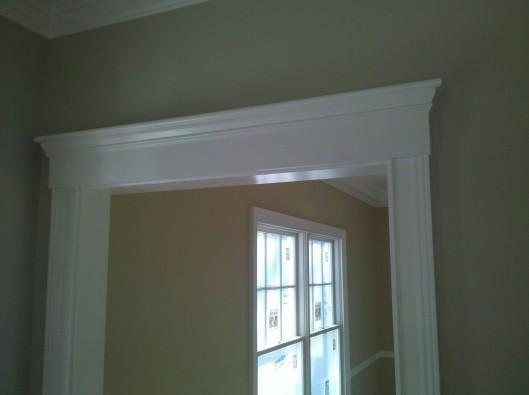Image of door pediment