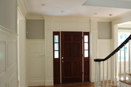 Image of Front Door Trimwork