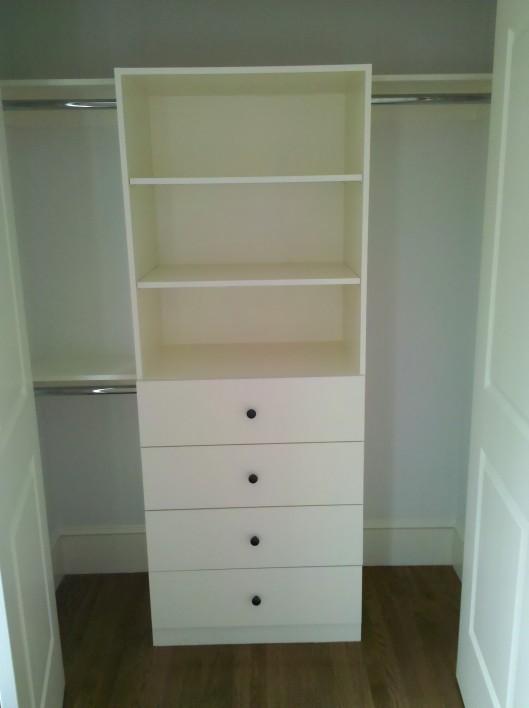 Image of closets