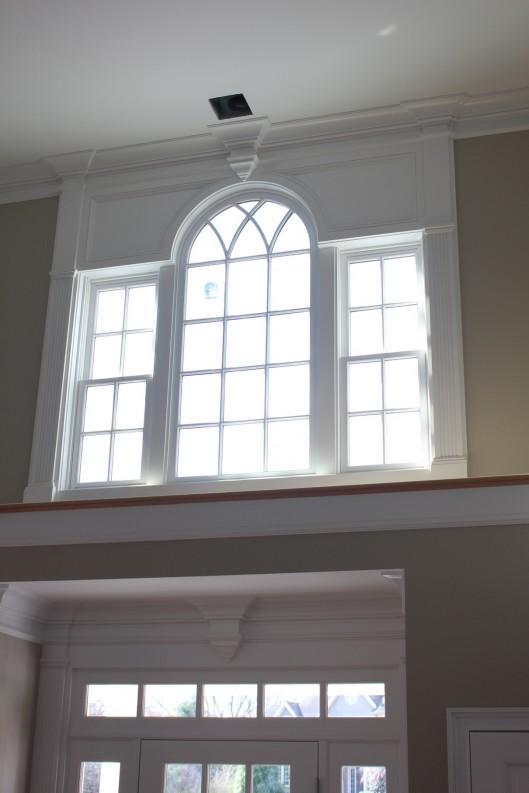 Image of Front Entrance & Upper Foyer Window