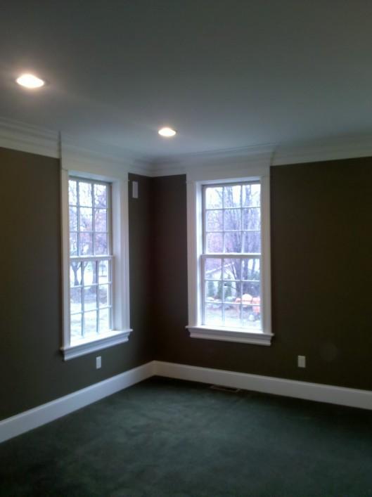 Image of window trim w/ pediments