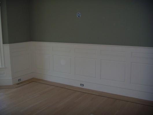 Image of double raised panel