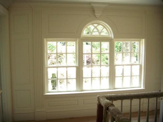Image of fluted raised panel window